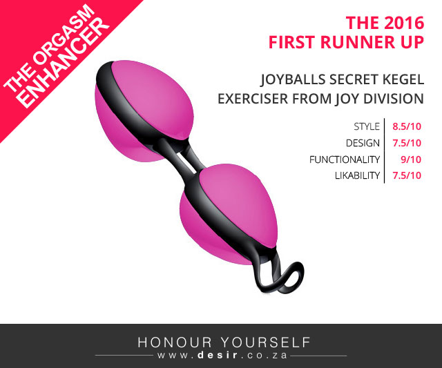 Joyballs Secret Kegel Exerciser from Joy Division
