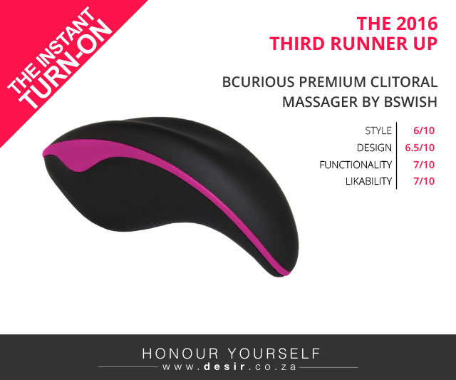 BCurious Premium Clitoral Massager by BSwish
